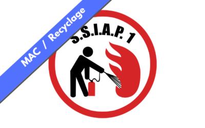Recyclage SSIAP 1